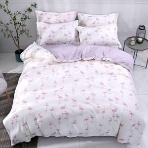 Animal-Printing-Bedding-Set-Duvet-Quilt-Cover-Sheet-Pillow-Case-Four-Piece-Hot