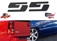 ** 2 NEW Chevy Silverado SS Chrome Badge Badges Emblem **