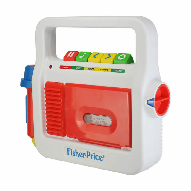 Fisher Price Tape Recorder - Yesterday's Classics - For Kids Of Today