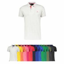 "Gant Herren Poloshirt ""Contrast Collar"" Kurzarm verschiedene Farben S - XXXL NEU"