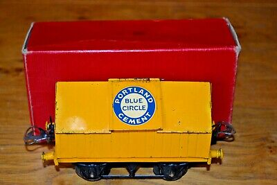 Aspirante Vintage Boxed Hornby Series Meccano O Gauge R154 Cement Wagon