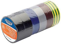 Draper 90086 Expert 8 x 10 m x 19 mm couleurs mélangées Isolation Tape
