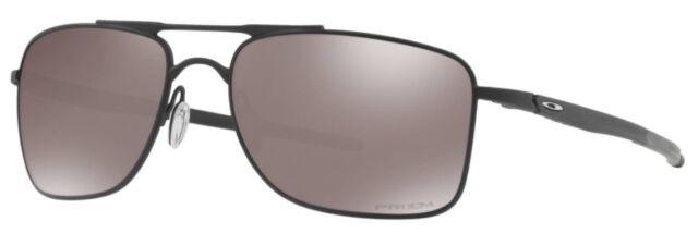 2aa4b2e60dc Oakley Gauge 8 Sunglasses Matte Black Frame Prizm Polarized Lens OO4124-02