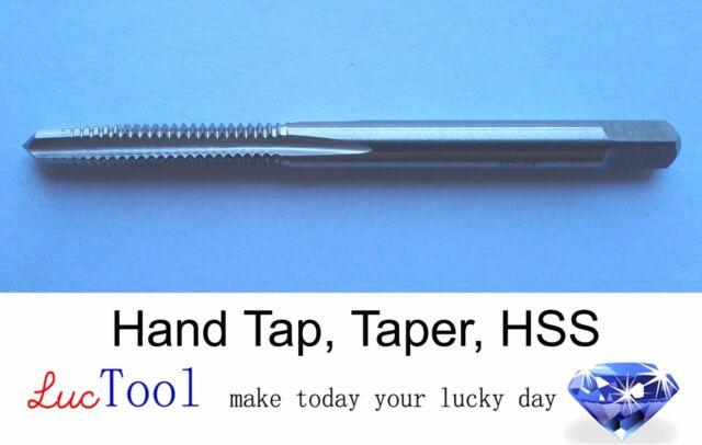 12-28 UNF Hand Tap Bottoming GH3 Limit 4 Flute HSS Bottom Chamfer Bright Thread