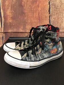 31101280fc310 Converse Chuck Taylor All Star Superman DC Comics Sneakers Size ...