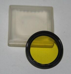 B-W-022-2X-Yellow-Filter-Bay-II-Mount-Case-vgc
