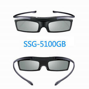2x-New-Genuine-For-Samsung-SSG-5100GB-3D-Active-Shutter-Glasses-3D-TV-SSG4100GB