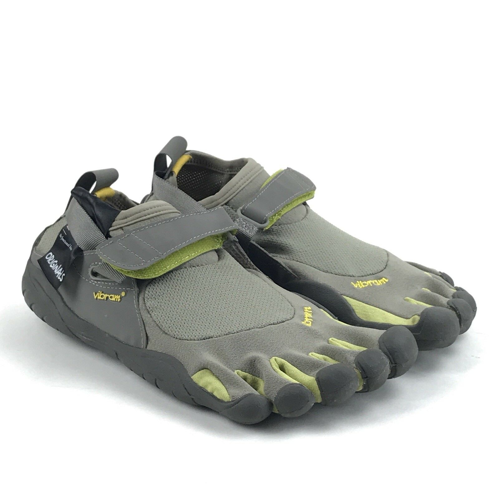 Vibram Fivefingers Donna KSO Grigio Plam Clay Cross Training Shoes Size 8-8.5 M