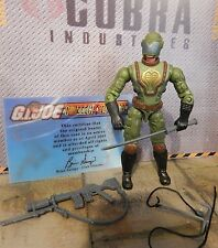 GI JOE ~ 2005 JUNGLE VIPER ~ COLLECTORS CLUB MEMBER ~ 100% COMPLETE W/  card