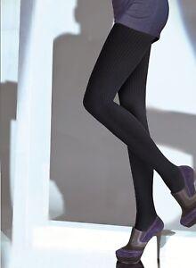 Black-Cotton-Warm-Thick-Cotton-Plus-XL-Size-Women-Quality-Tights-Hosiery-T56