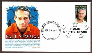 Image Is Loading 2015 PAUL NEWMAN STAMP PANDA CACHET HOLLYWOOD CANCEL