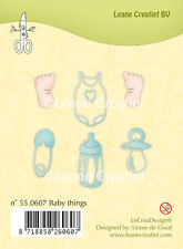 NUOVO Leane Creatief-Clear Cling Rubber Stamp Baby cose ridotto - 55.0607