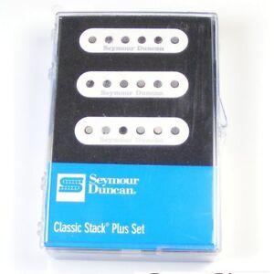 Seymour Duncan STK-S4 'Classic Stack Plus' Pickup Set for Strat, White