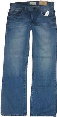 Mens AEROPOSTALE Bowery Slim Straight Medium Wash Jeans NWT #4733