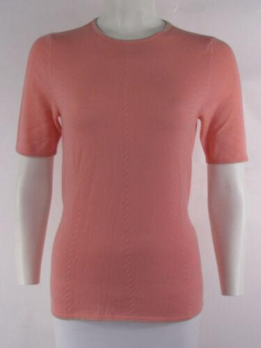 Maglia Con Cintura Maglione Cashmere Escada Moda Donna 38 Rosa Pesca Fiocco gx7w7qS8Y