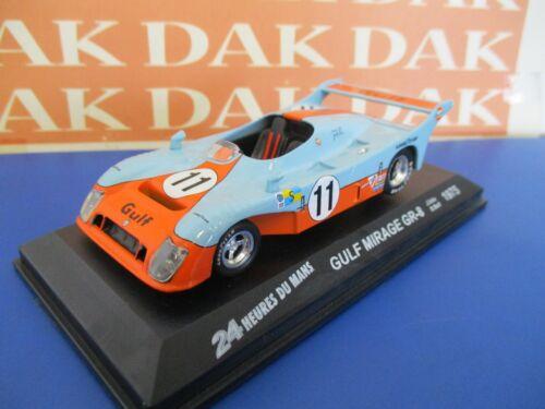 Die cast 1//43 Modellino Auto Gulf Mirage GR-8 24H Le Mans 1975 J.Ickx