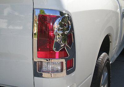 2009- 2017  Dodge Ram 3D  Big Horn Chrome Tail Light Trims