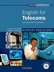 Oxford-Business-English-Express-Series-ENGLISH-FOR-TELECOMS-amp-IT-w-MultiROM-NEW