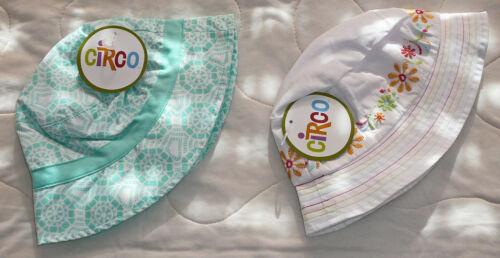 Circo Kids Sun Bucket Print Hat Strap Girl Toddler Infant Baby Childrens
