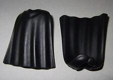 08121, 2x Umhang, Cape (mit Schnalle), schwarz