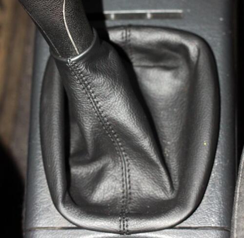 Cuffia leva cambio Volkswagen Polo 6n 6n2 vera pelle nera