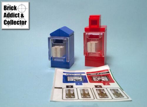 Sticker Neuf Lego ® Modular Distributeur de journaux Front Line Daily Bugle