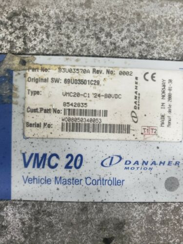 Used Working Danaher Controller 83U03570A