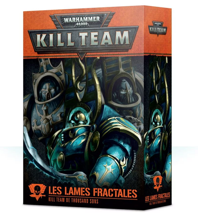 Kill Team - Les Lames Fractales - Kill Team de Thousand Sons 102-52-01 - W40K-FR