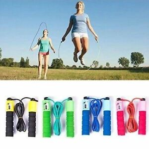 1 x Corde à Sauter Réglable Fitness Crossfit Boxe taille jusqu'à 2,5 m avec comp