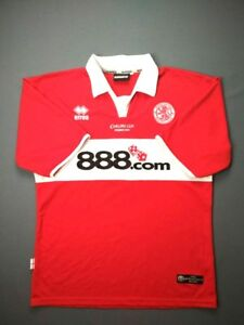4.6 5 MIDDLESBROUGH 2004 2005 HOME ORIGINAL FOOTBALL SHIRT CUP ... 2341611ce9796