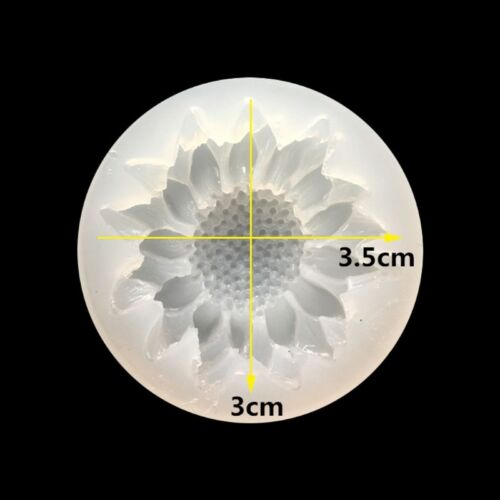 Silicone 3D DIY Flower Rose Moulds Mold Resin Jewelry Pendant Making Tool Crafts