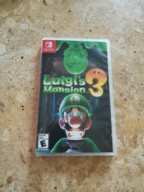 ****BOX ONLY**** Luigi's Mansion 3 (Nintendo Switch, 2019)