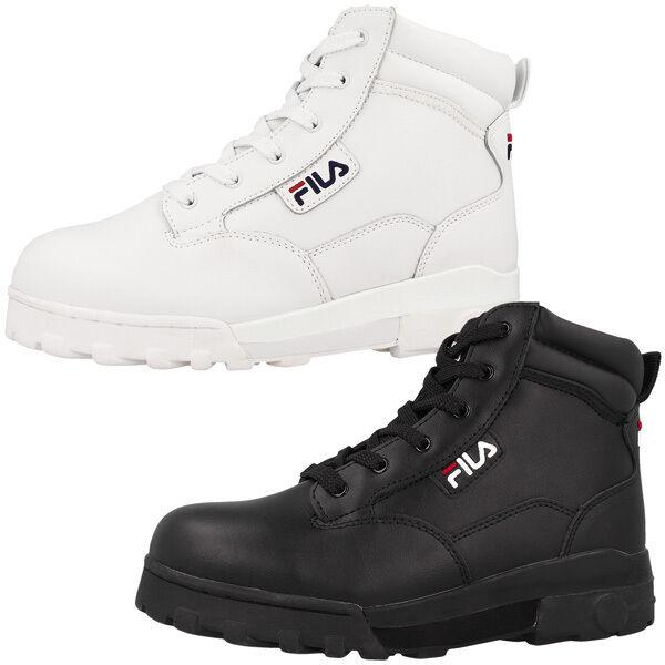 Fila Grunge L Mid damen Leather Outdoor Schuhe Stiefel Stiefel 4010282 Maverick