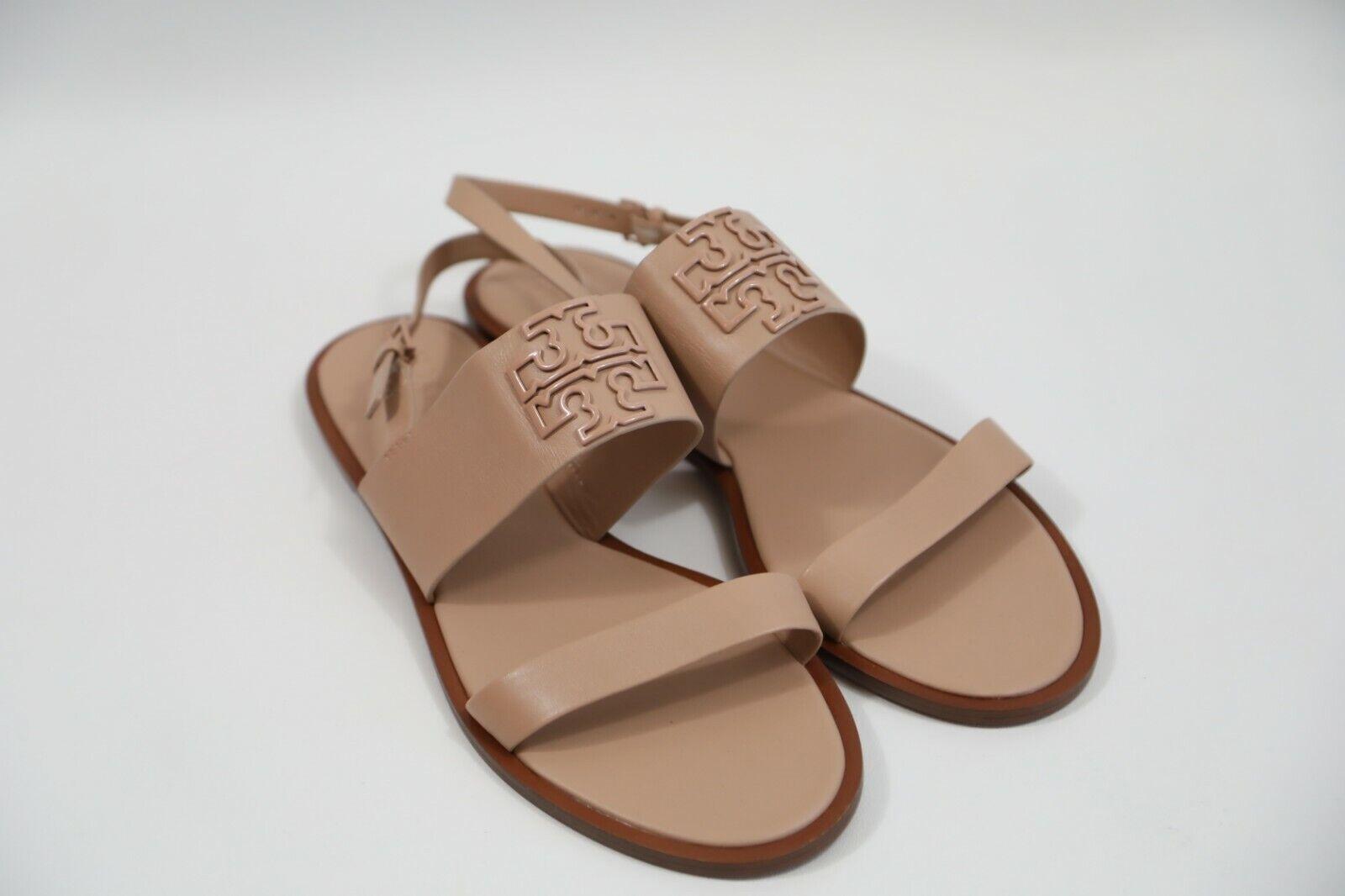 _301Tory Burch Logo Strap Strap Strap Sandals Storlek 11 NWOB  kreativa produkter