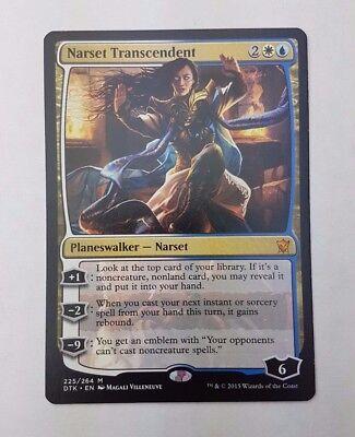 CHINESE EMBLEM NARSET TOKEN 8//8 X4 Dragons Of Tarkir DTK Magic MTG MINT CARD