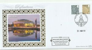 31-MARCH-2009-56p-amp-90p-N-IRELAND-DEFINITIVES-BENHAM-D-557-FIRST-DAY-COVER