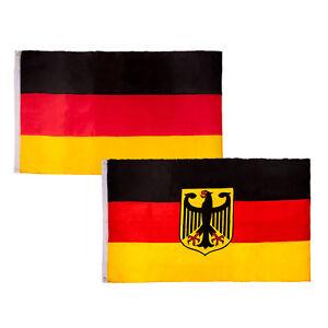 Details Zu Deutschland Fahne Flagge 90x150 Fussball Hissfahne Adler Farben Auswahl Em Wm Hi