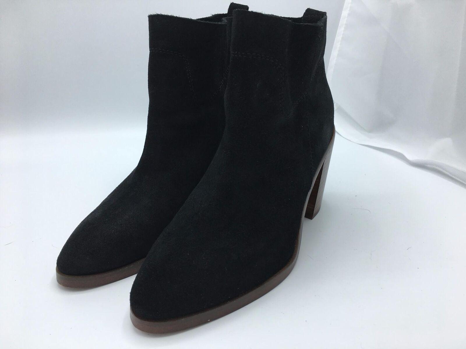 Latigo Women's Jambalaya Bootie Black Suede (1454) Size 7M