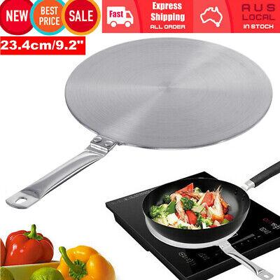 Details about  Induction Hob Cooktop Converter Heat Diffuser Disc Adapter Plate Saucepan Pot