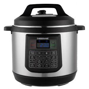 Programmable Electric Pressure Cooker 8 Quart Instant Cooking Large Pot Instapot