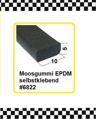 Vorsichtig 1m Muster Moosgummi Gummidichtung Selbstklebend 10x5mm 6822 Aus Berlin Modernes Design