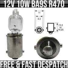 12v 10w BA9S MCC Miniature Halogen Bulb R470 x 1