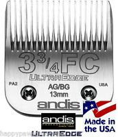 Andis Ag/a5/bg Ultra Edge 3 3/4fc 3f 1/2-13mm Bladefit Most Oster,wahl Clipper