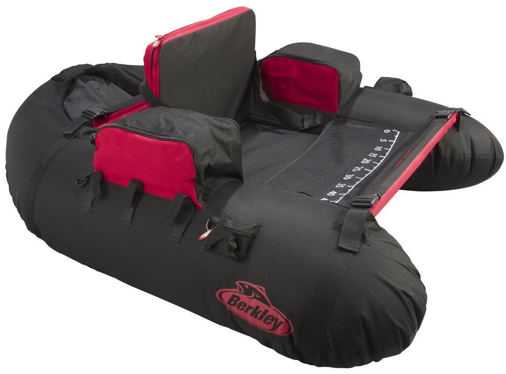 Berkley Tec Belly Boat Pulse Xcd Bellyboot Fishing 138x108x58cm Rubber Dinghy