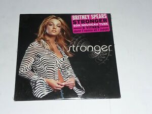 Britney-Spears-Stronger-FRENCH-CD-Single-SEALED