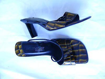 Damen Schuhe __ Pumps __ Gr. 39 __ Leder __ von Fashion Lady