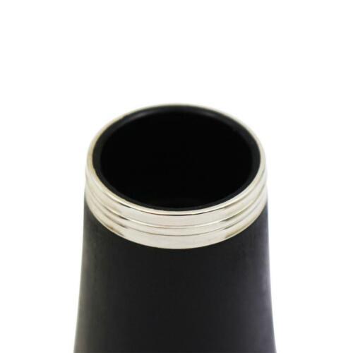 1 Stück Klarinette Glocke Tropfen b schwarz Rohr für Klarinette