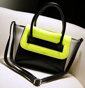 New-Women-039-s-Leather-Handbag-Shoulder-Bag-Tote-Shopper-Best-Christmas-Gift