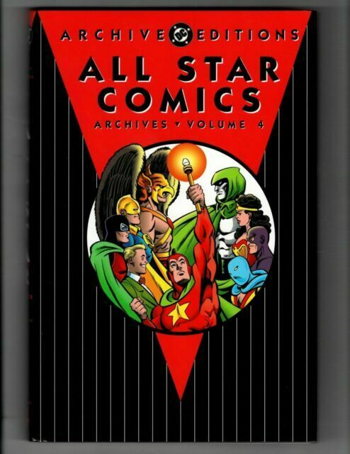 Archives Ser All Star Comics By Dc Comics Staff And Gardner Fox 1998 Hardcover Revised Edition For Sale Online Ebay