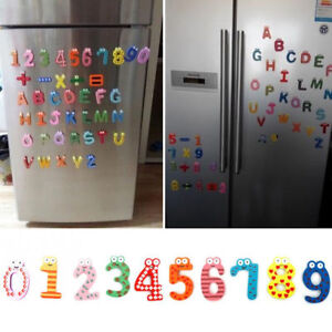 Wood-Cute-Fridge-Magnet-Alphabet-Animal-Number-Early-Educational-Kids-Baby-Toy